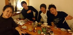 Shoko, Genki, Atsushi, Hikaru